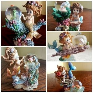 5 Limited Edition Hamilton's Rainbow Reef Mermaids